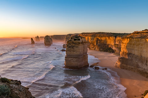 The 12 Apostles Melbourne Australia is a fantastic day trip, do a tour or rent a car to drive along the coast.