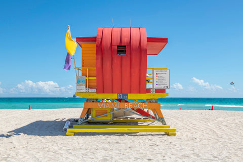 13th Street (2021) Miami Lifeguard Chair