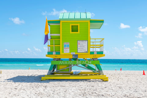 6th Street (2021) Miami Lifeguard Chair