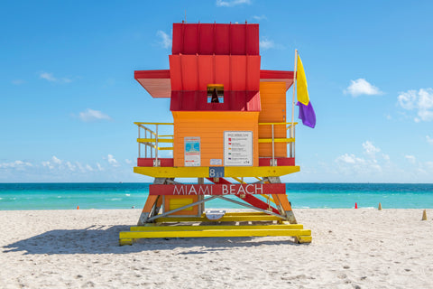 8th Street (2021) Miami Lifeguard Chair