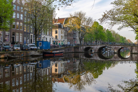 Amsterdam Canals Reflections, Netherlands