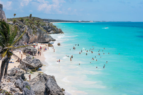 Beach in Tulum Mexico