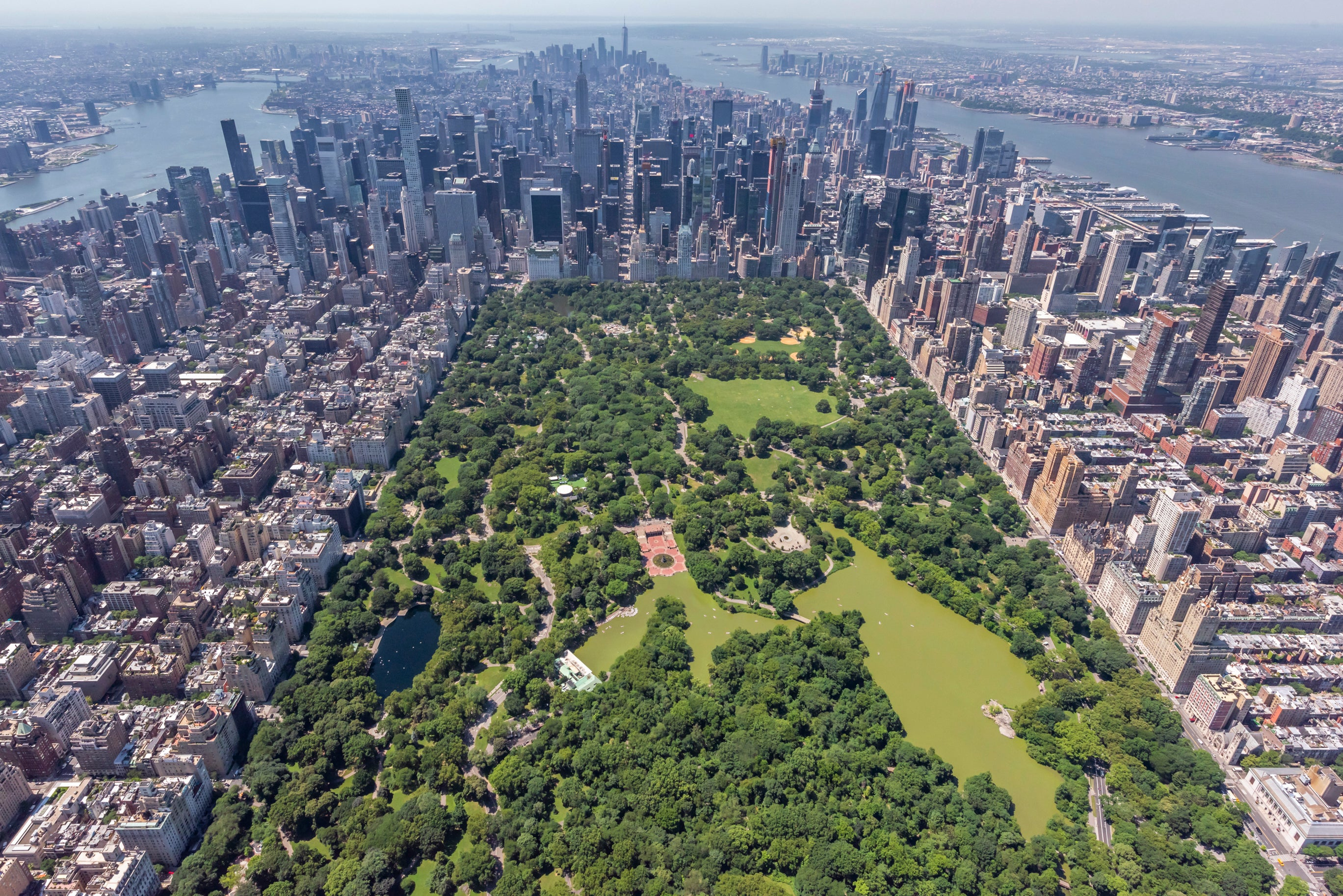 Central Park by Helicopter, New York City II