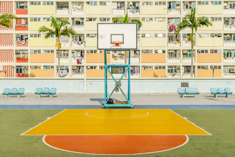 Choi Hung Estate Basketball Court Hong Kong