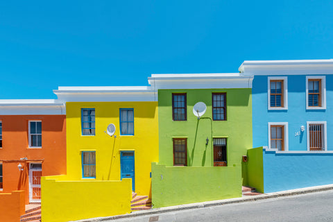 Colorful Houses Bo-Kaap South Africa