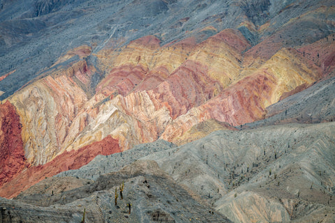 Colorful Mountains Salta Argentina