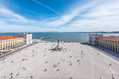Commerce Square, Lisbon, Portugal