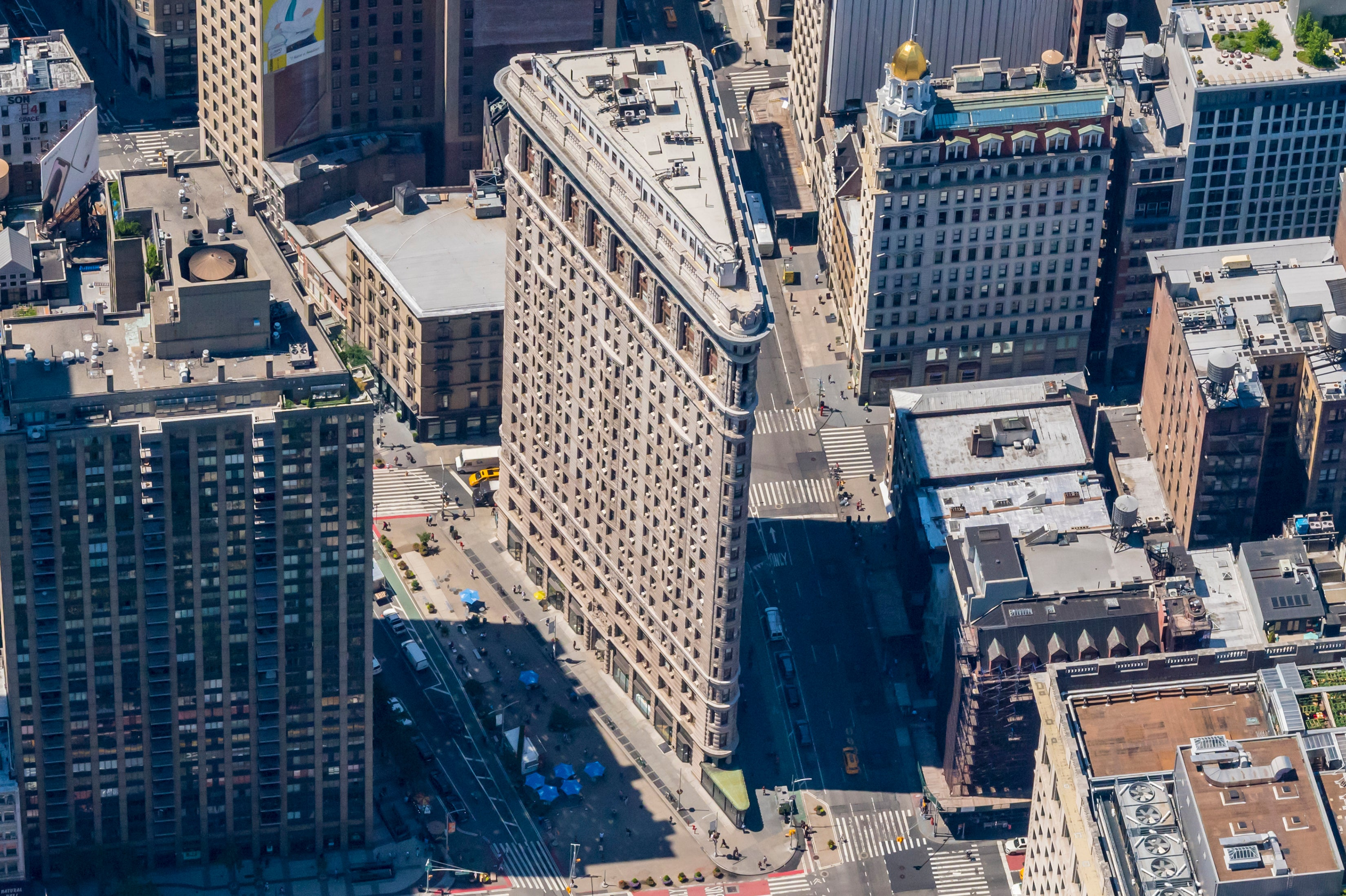 Flatiron Building from Above