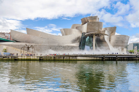 Guggenheim Museum Bilbao, one of the world's most beautiful museums.