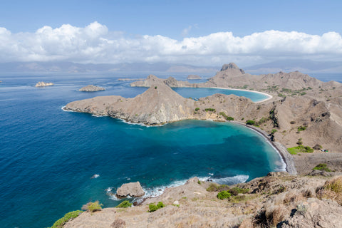 Komodo Island Indonesia, home of the famous Komodo Dragon and some amazing landscapes.