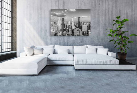 B&W East View from 24th Street