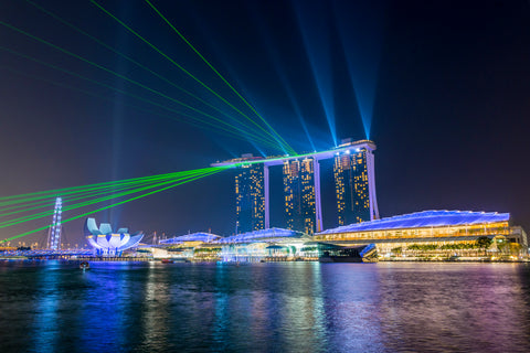 Marina Bay Sands Lights Show, Singapore