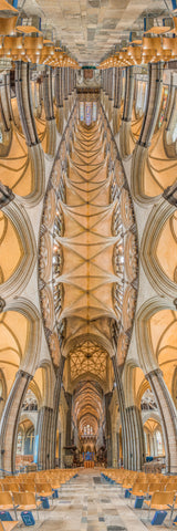 Salisbury Cathedral, Salisbury, England is a Vertical Church.