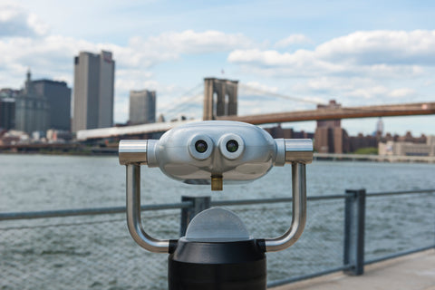 Sightseeing Binoculars of Brooklyn NY
