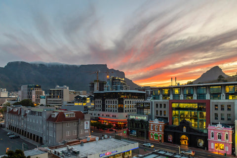 Table Mountain, Cape Town at Sunset