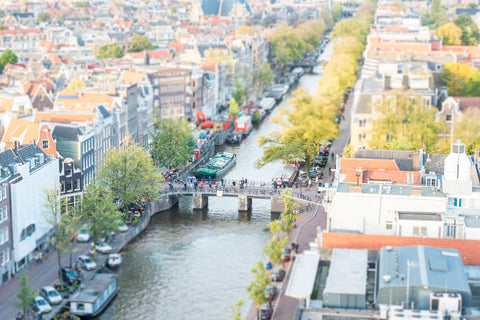 Tilt Shift Amsterdam
