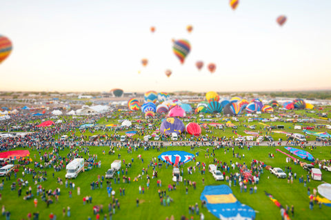 Tilt Shift Balloon Take Off I
