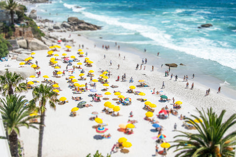 Tilt Shift Clifton 1st Beach, Cape Town