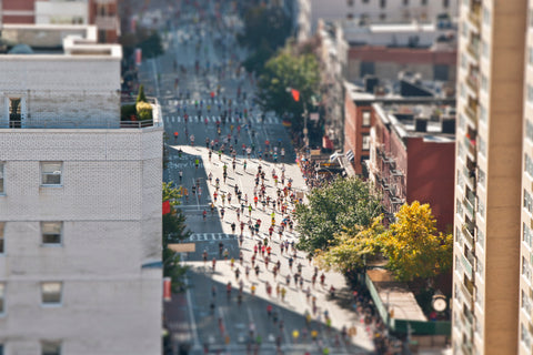 Tilt Shift NYC Marathon VI