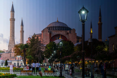 Time Slice Hagia Sophia