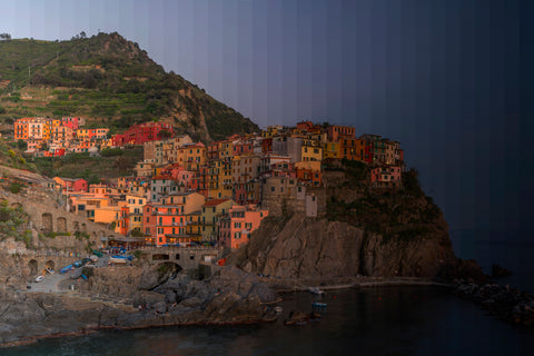 Time Slice Manarola Italy