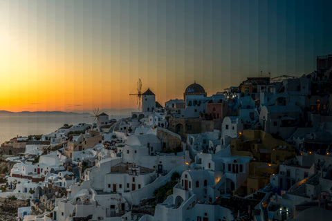 Time Slice Santorini, one of the world's most beautiful island getaways.