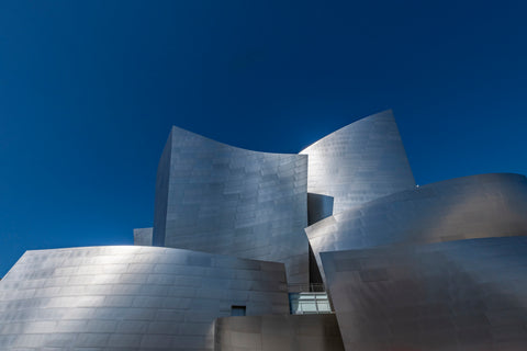 Walt Disney Concert Hall Los Angeles California.