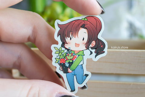 Casual Makoto Sticker [Sailor Moon]