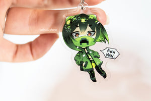 Creeper Girl Acrylic Charm [Original]