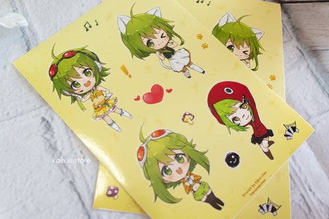 Gumi Sticker Sheet [Vocaloid]