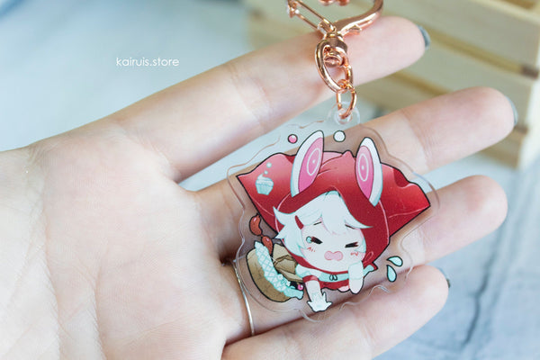 Little Red Riding Rabbit Charm [Original]