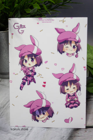 LLENN Sticker Sheet [SAO;GGO]