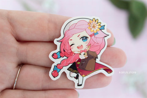 Schoolgirl Maribelle Sticker [Dragalia]