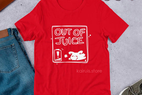 OUT OF JUICE Tee [Original]
