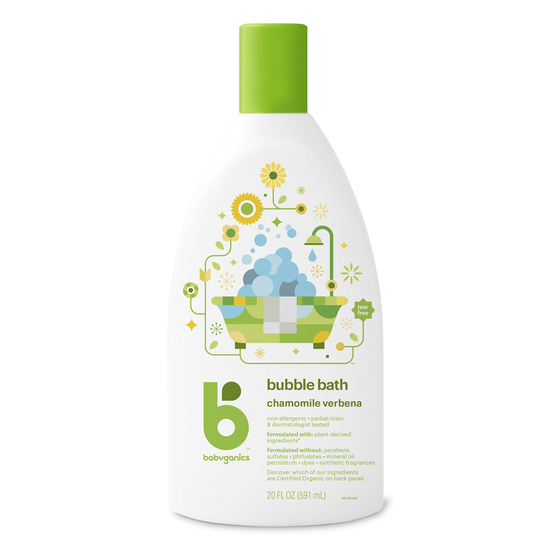 bubble bath, 591ml, chamomile verbena