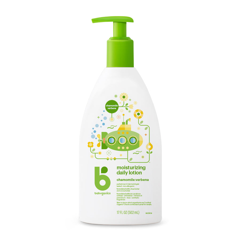 Moisturizing daily lotion, 502ml, chamomile verbena *expiry date: April 2021*