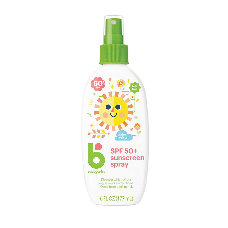 spf 50+ sunscreen spray, 177ml