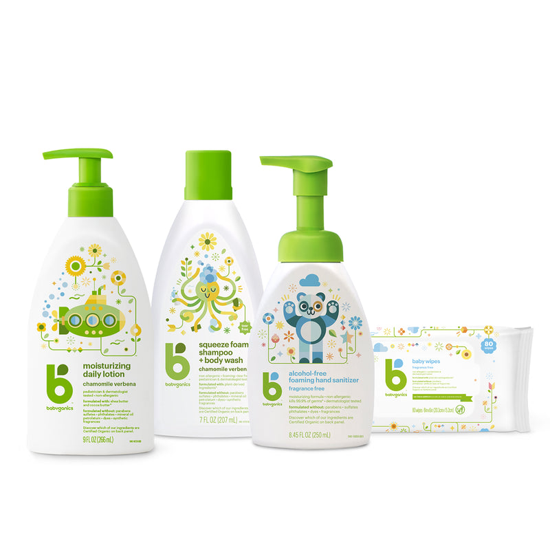 babyganics baby care starter kit