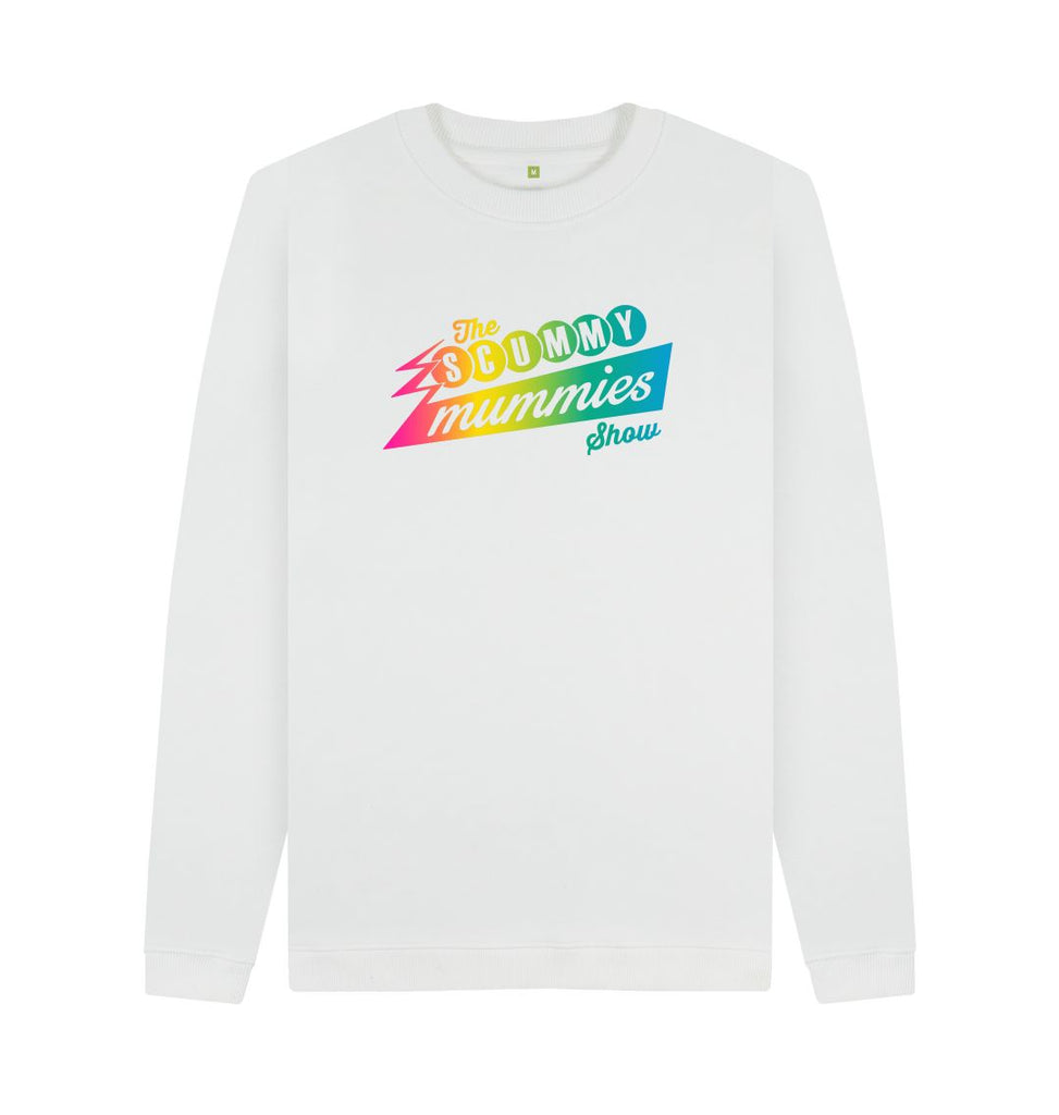 White Rainbow SCUMMY MUMMIES Show Sweatshirt