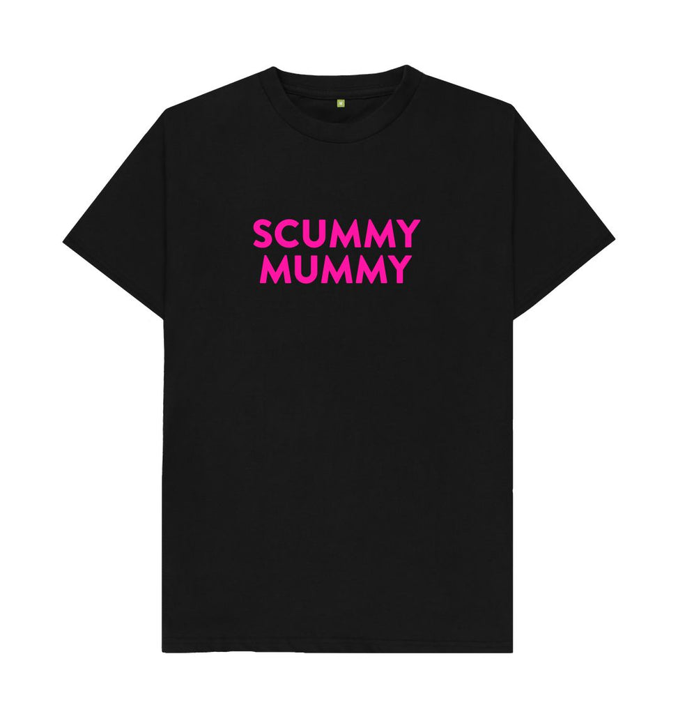 Black Pink SCUMMY MUMMY T-shirt