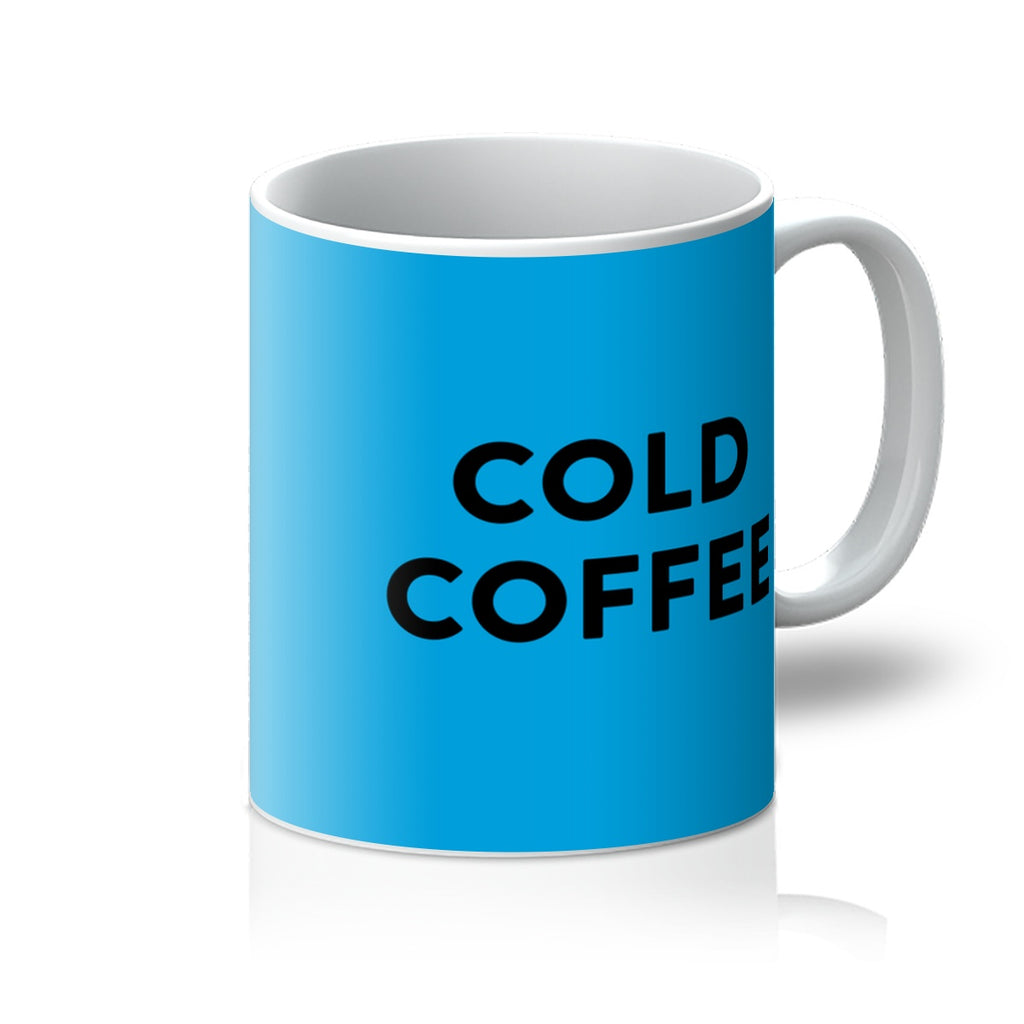 Blue Cold Coffee Mug