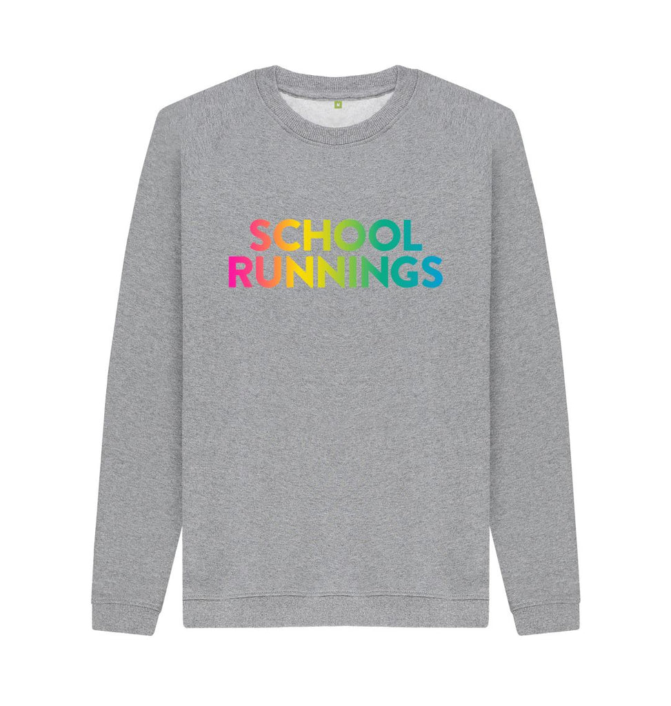 Light Heather SCHOOL RUNNINGS Sweatshirt