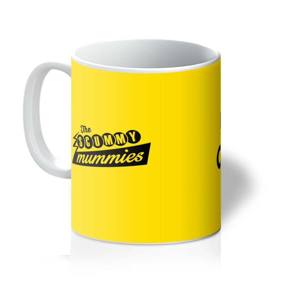 Yellow Cold Coffee Mug