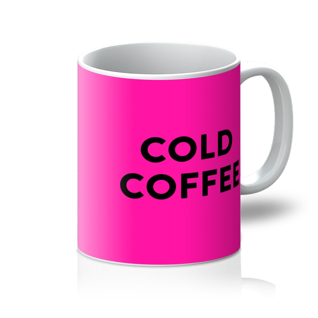 Hot Pink Cold Coffee Mug