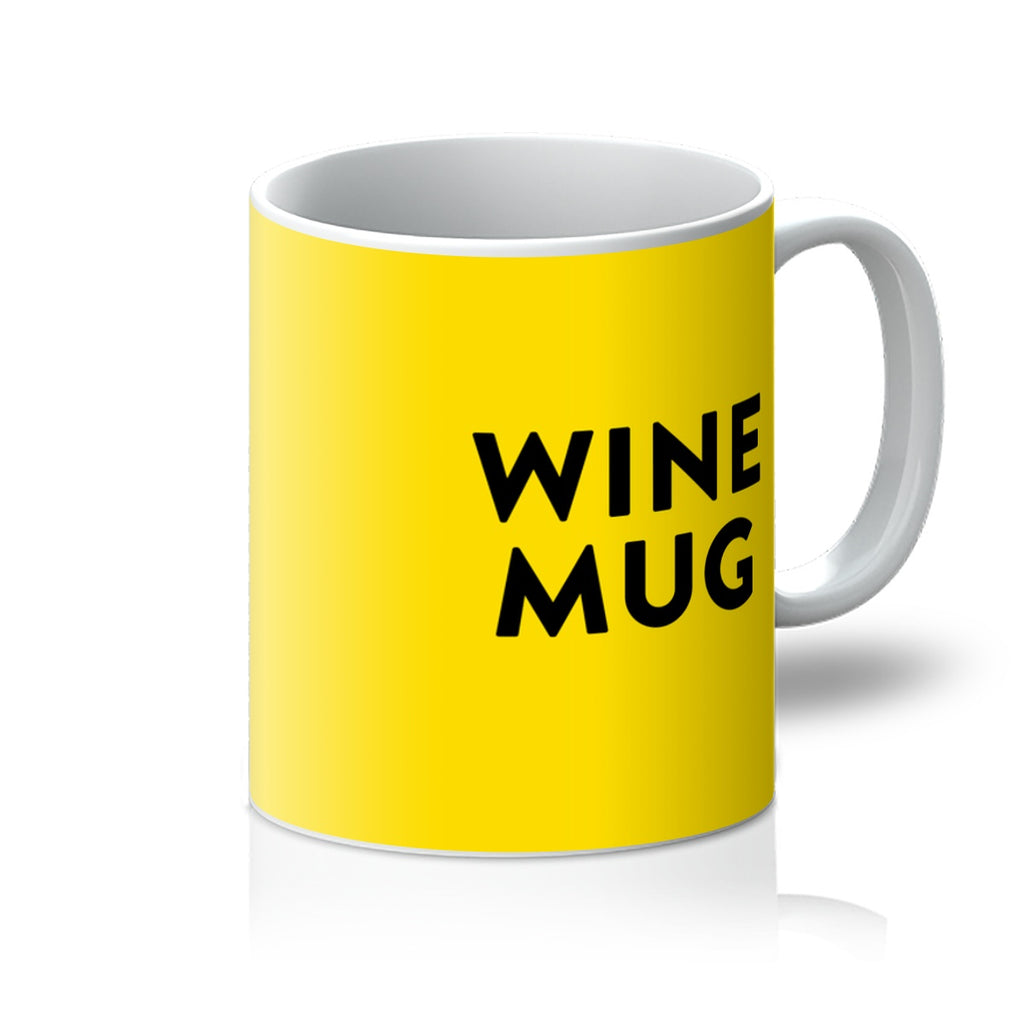 Yellow Wine Mug