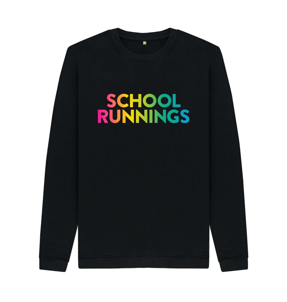 Black SCHOOL RUNNINGS Sweatshirt