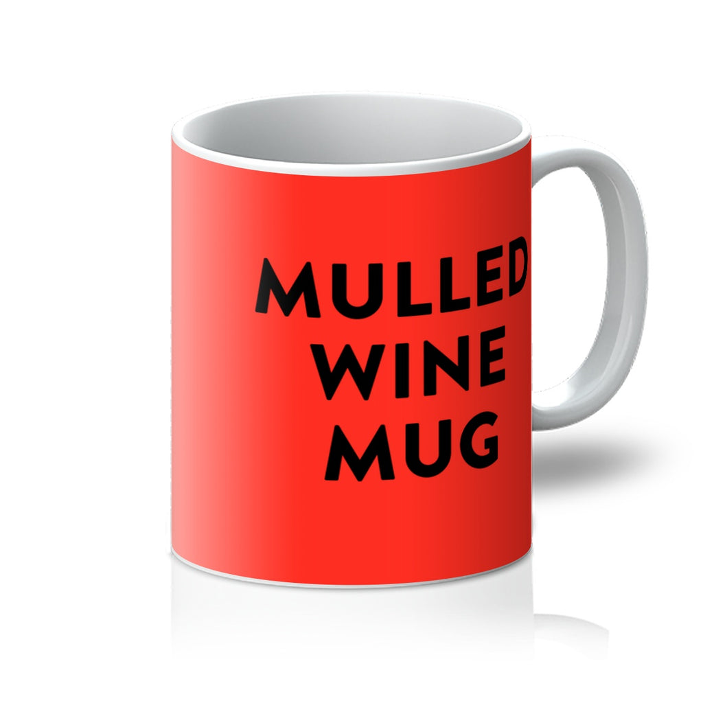 Red Mulled Wine Mug