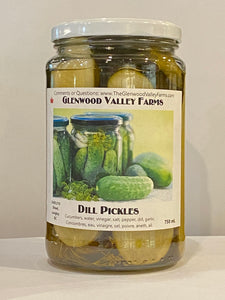 Glenwood Valley Dill Pickles
