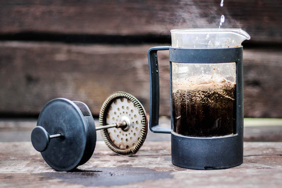 Steps to make the best coffee using your French Press (cafetiere).