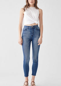 chrissy huron cropped ultra high rise instasculpt skinny